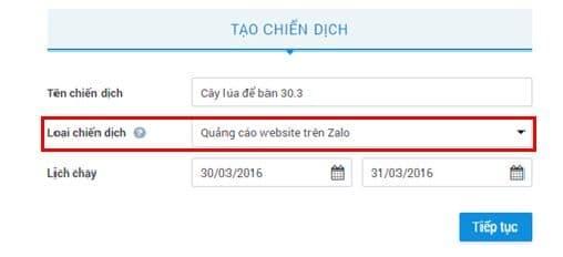 Quang cao Zalo B1