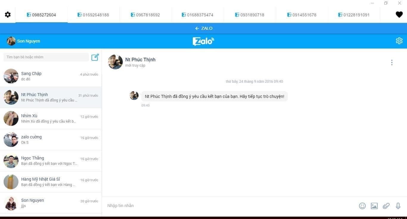 Đăng nhập nhiều tài khoản Zalo cùng lúc trên máy tính - 0