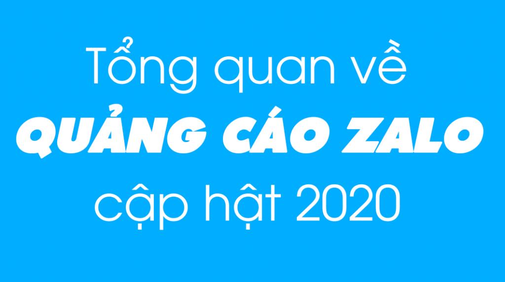 Tổng quan về quảng cáo Zalo mới nhất